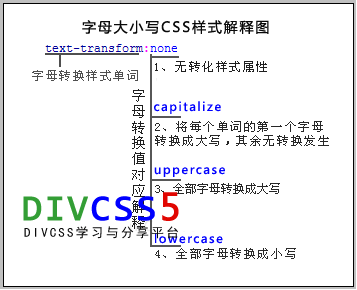 css text-transform结构分析图
